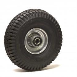 Roue gonflable (3.00-4) 260 x 85 moyeu 75 axe 25 mm roulements à billes - 200 Kg