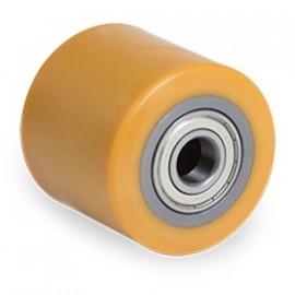 Galet bandage polyuréthane FORTHANE® - corps acier