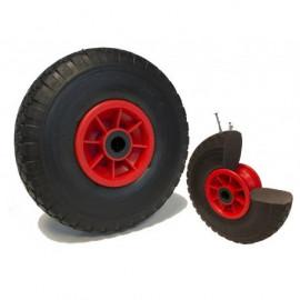 Roue à pneu increvable