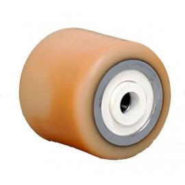 Galet (OEM STILL) bandage Vulkollan® avec joint blanc pare-fils