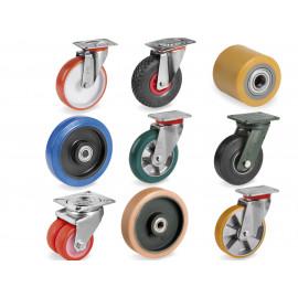 Roulettes et roues